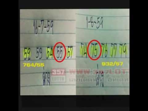 หวยเด็ดงวด 1/9/2559 รออัพเดท, น่าสนใจ !!! หวยทำมือ อ.Nay งวดที่ 16/8/2559 (ผลงานเข้า2งวดซ้อน)