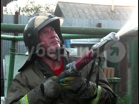 Частная гостиница сгорела в Комсомольске-на-Амуре.MestoproTV