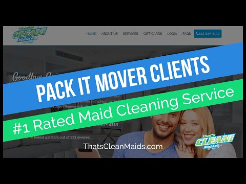 Pack It Movers Customers Get Discounts With Us for Move Out Cleaning Service Houston