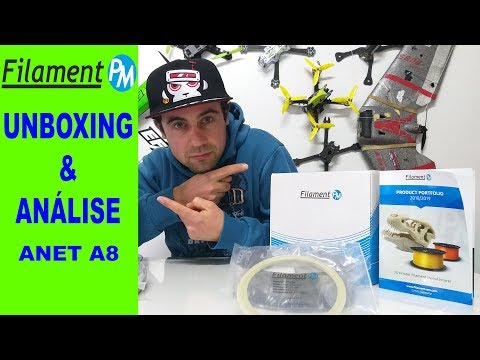 FilamentPM - MarbleJet || Graphite || Glow - ANÁLISE e TESTE