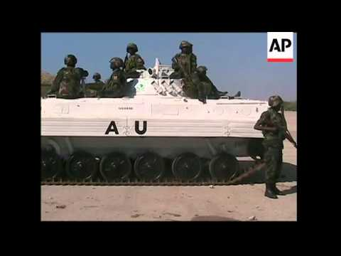 First Ugandan peacekeepers arrive in Somalia's capital