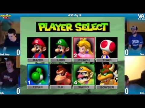 Mario Kart 64 Tournament - VA 2018 Top 16