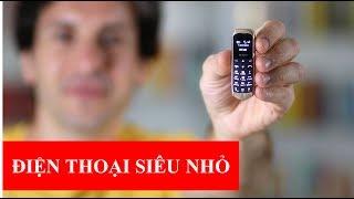Điện thoại siêu siêu nhỏ Long CZ (CHỈ BẰNG NGÓN TAY) và siêu độc kiêm tai nghe bluetooth