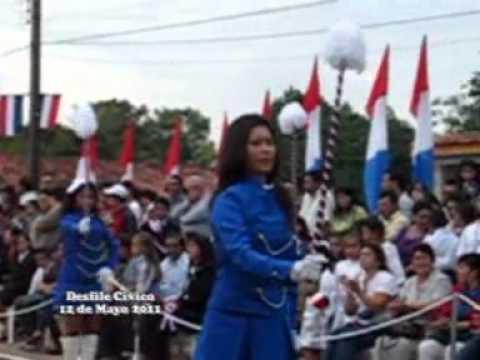 Desfile civico por Bicentenario - Ayolas Paraguay - 2011 - 6ta parte