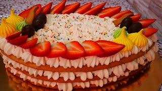 Медовый торт ПАСХАЛЬНЫЙ Торт МЕДОВИК Рецепт медовых коржей ГОСТИ В ВОСТОРГЕ