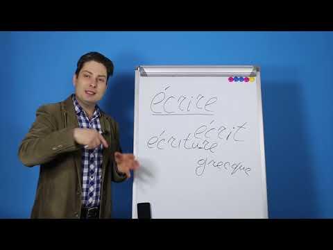 Урок французского: Секрет запоминания лексики от Мишеля