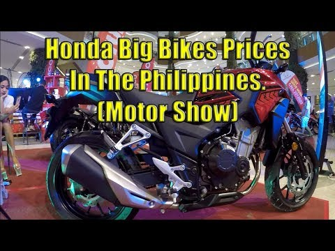 Honda Big Bikes Prices In The Philippines (Motor Show)
