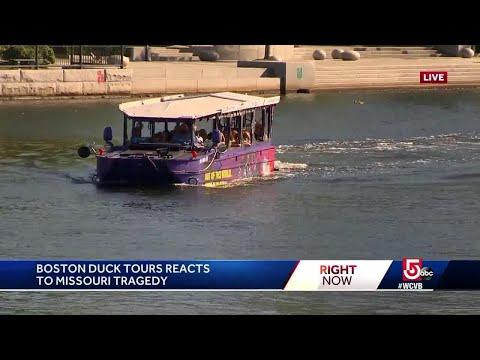 'Safety is No. 1 priority,' Boston duck boat operator says after fatal accident in Missouri