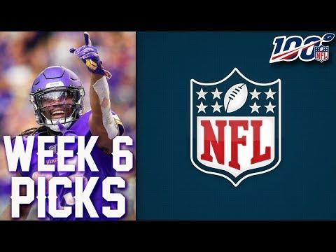 nfl-week-6-picks-2019-nfl-game-predictions- -weekly-nfl-picks
