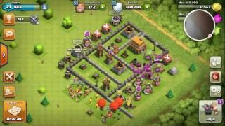 Clash of clans Meu Primero vídeo no canal #1