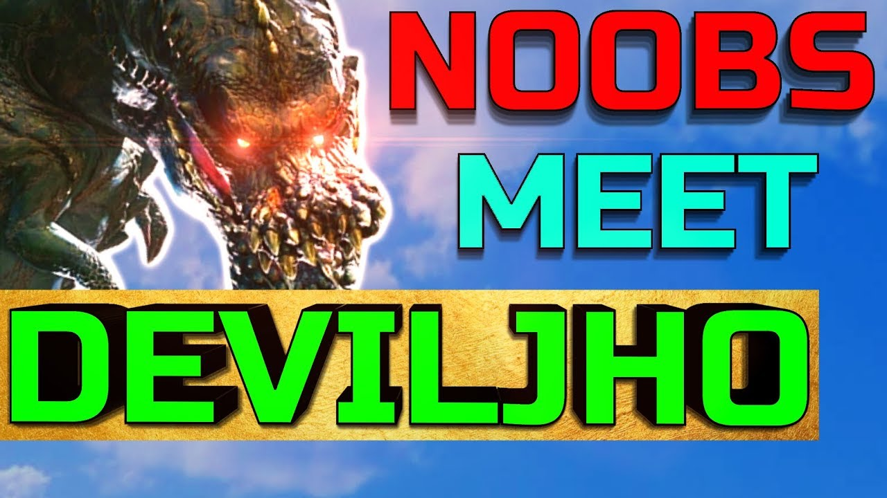 ► New Players Meet Deviljho - Monster Hunter World Funny Moments #2 thumbnail