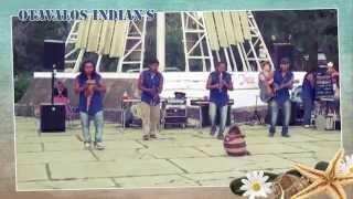 Otavalos Indian's in Anapa 2014