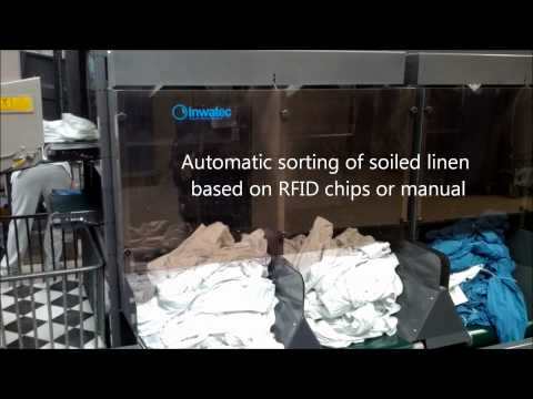 Inwatec Automatic Sorting of soiled linen