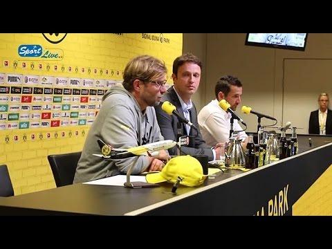 Pressekonferenz Borussia Dortmund - Hamburger SV 0:1 (04.10.2014)