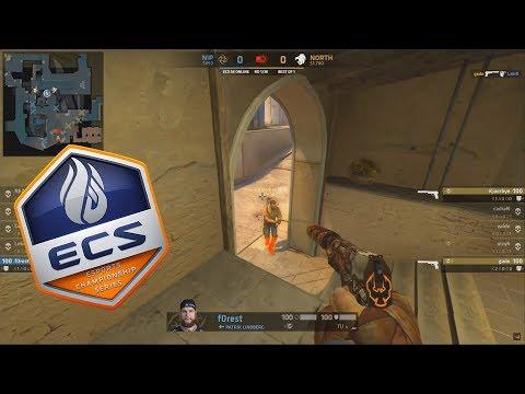ECS S6 - NiP vs North - TEAM CADIAN - Highlights - CS:GO