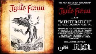Ignis Fatuu - Die vier Reiter der Apokalypse (Official Audio Clip)