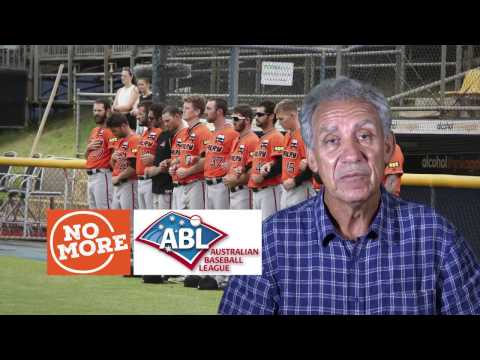 The Australian Baseball League Supports the No more Campaign