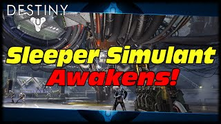 Sleeper Simulant First Firewall Awakens Again! Destiny Sleeper Simulant Mission Time Gated To 7th!