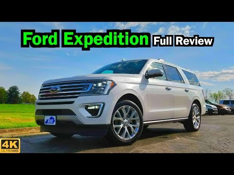 2019 Ford Expedition Max: FULL REVIEW + DRIVE | Big and Powerful to the Max!