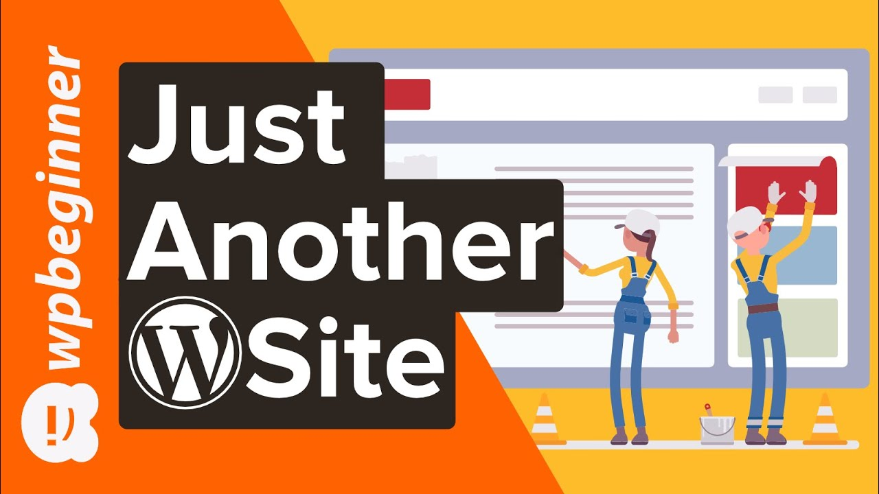 """How to Change the """"Just Another WordPress Site"""" Text Easy Way"""