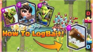 Clash Royale Best Princess, Goblin Barrel & Goblin Gang Deck! *how To Log Ba