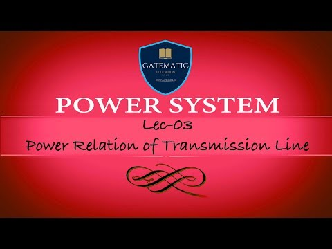 Lec 03 Power Relation of Transmission Line