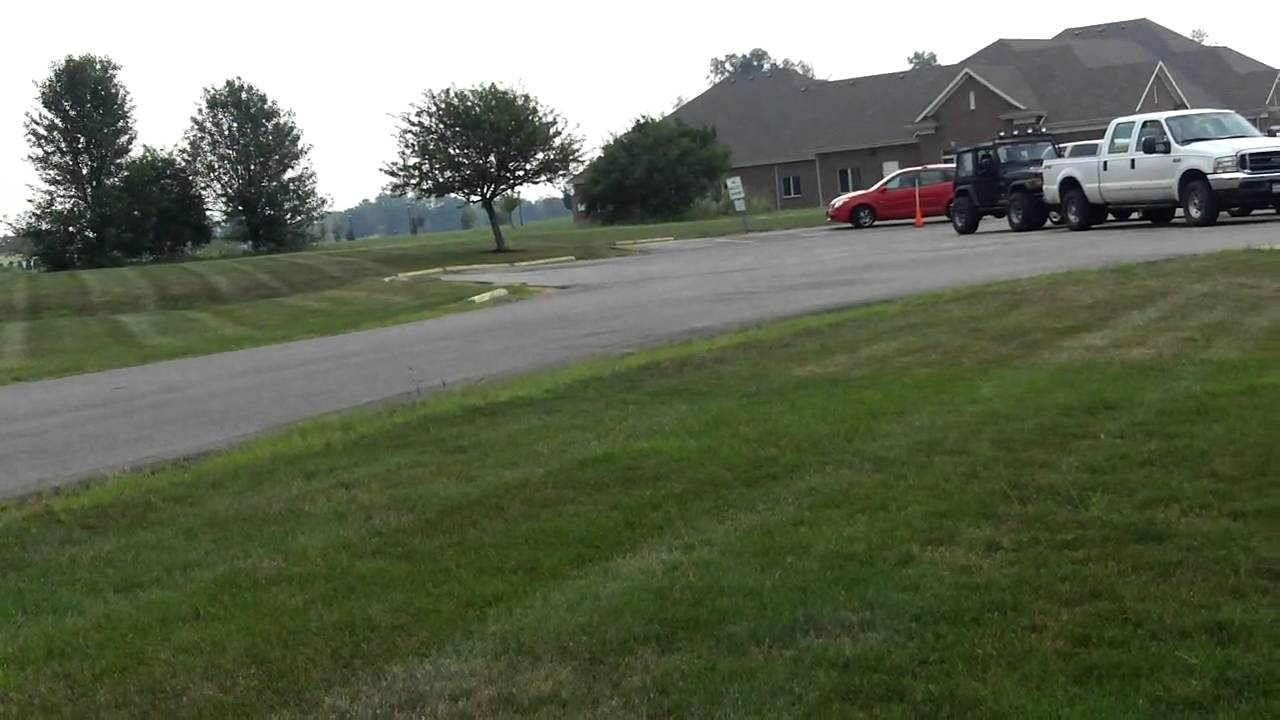 108 0048 Mov Old Woman Taking Driving Maneuverability Test 08102010   Sw Ohio