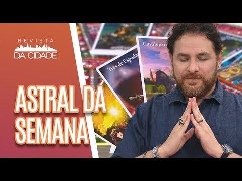 Previsão Dos Signos, Tarot E Energia Da Semana - Revista Da Cidade (04/06/18)