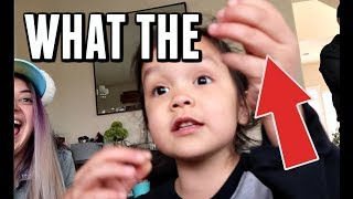 WHAT IS SHE HOLDING?! -  ItsJudysLife Vlogs