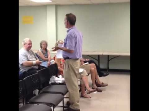 Attorney Seth Weissman at Dunwoody Homeowners Association Meeting (August 14, 2016)