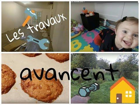 Vlog les travaux avancent usa youtube for Accouchement a la maison youtube