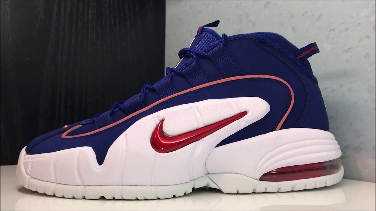 wholesale dealer 5f49f f0cbe 2018 NIKE AIR PENNY 1 AIR MAX USA 4TH OF JULY SNEAKER REVIEW