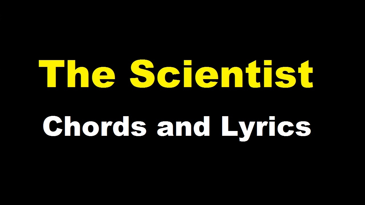 The Scientist Coldplay Cover With Guitar Chords And Lyrics Youtube