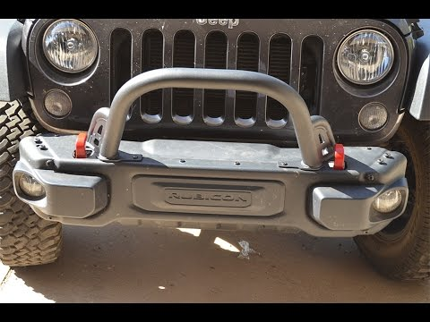 Rubicon X Front Bumper >> Rubicon X Maximus-3 Stinger bar Install - YouTube