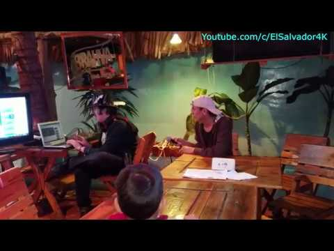 Mr Bone la reencarnacion del tigre... pero flaco. El karaoke, Guatemala. Parte 8/22