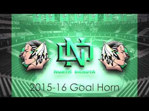 North Dakota Fighting Hawks/Sioux 2015-2016 Goal Horn