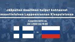 Maaottelu, Suomi - Venäjä, Live