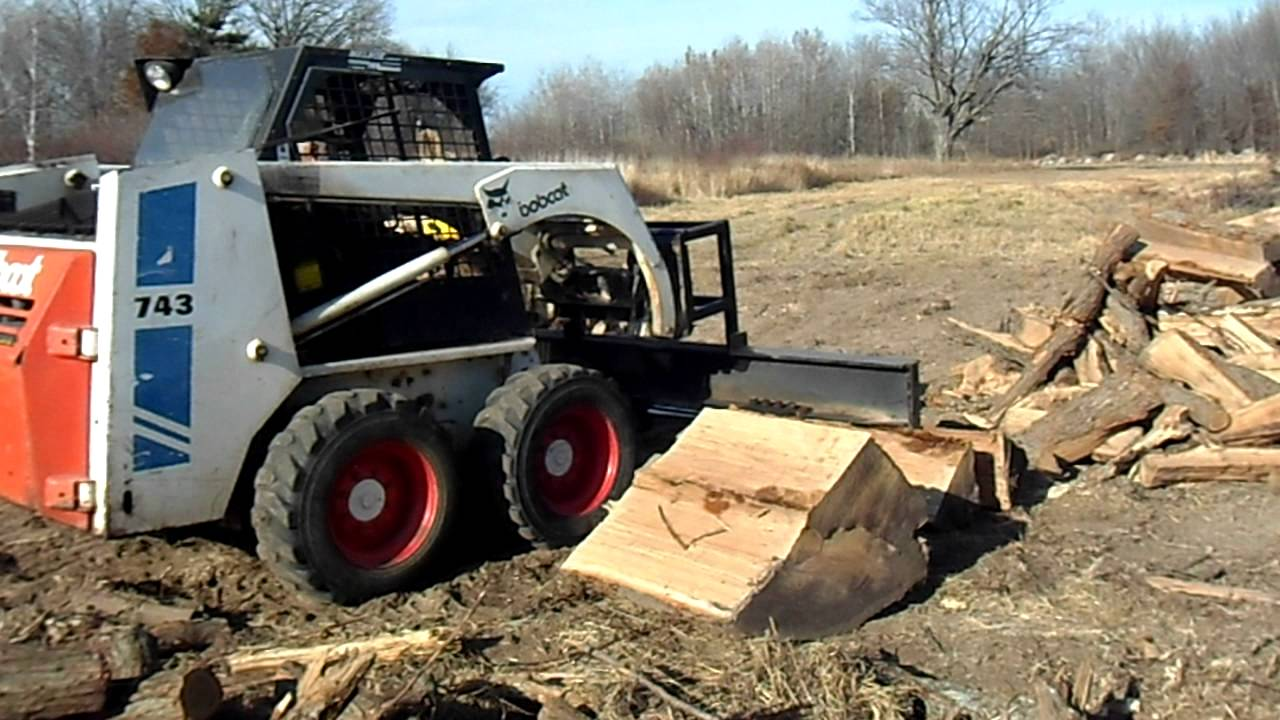 Bobcat Log Splitter Doovi