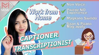 Transcriptionist and Captioner Jobs | Work from Home | ENG Subs