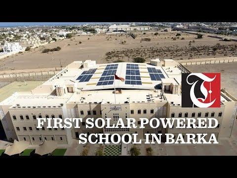 First solar powered school in Barka