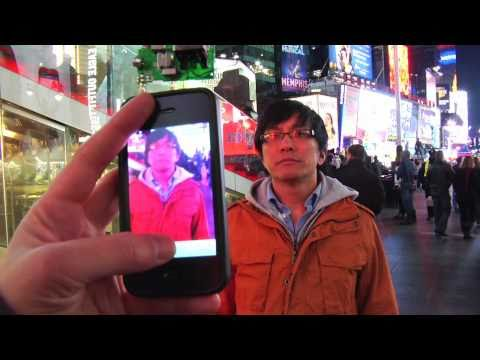 how to hack video screens on times square