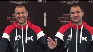 """(SAVAGE!!) SERGEY KOVALEV REACTS TO ANDRE WARD RETIREMENT """"IT'S GOOD FOR BOXING"""" SHOWS NO RESPECTS!!"""