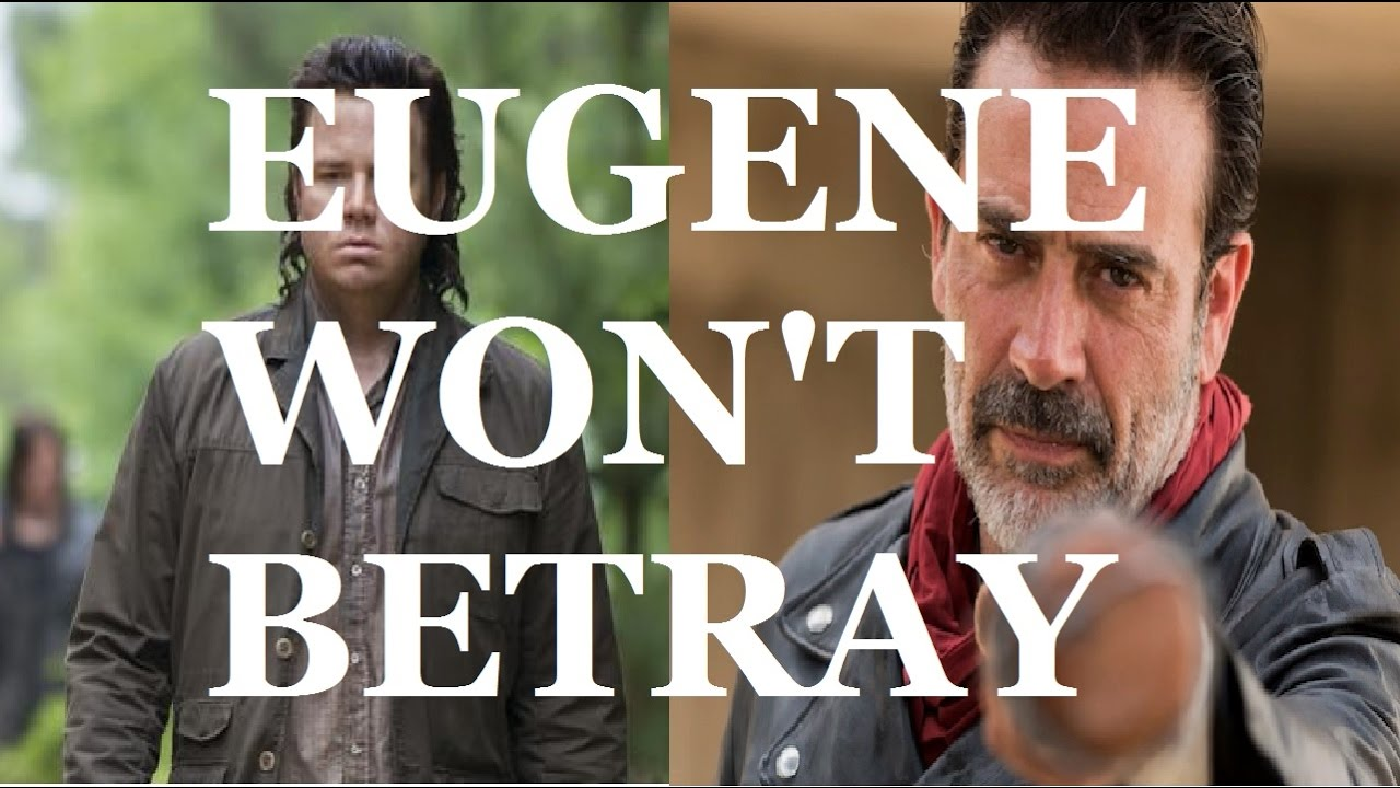 maxresdefault the walking dead season 7 episode 9 eugene won't betray!!! youtube