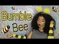 BumbleBee 🐝    EASY HALLOWEEN MAKEUP TUTORIAL 2017 ft. Wet n Wild