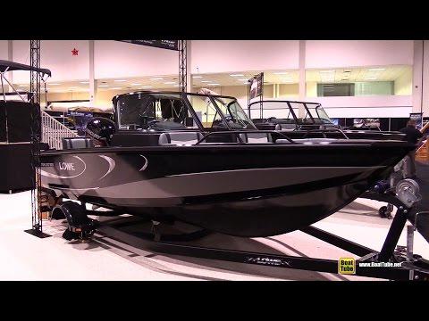 2015 Lowe Fish And Ski 1610 Motor Boat - Walkaround - 2015 Toronto Boat Show