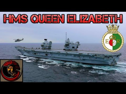 Britain's New Aircraft Carrier HMS Queen Elizabeth