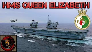 Britain's New Aircraft Carrier HMS Queen Elizabeth