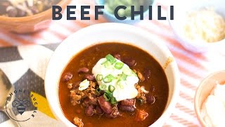 Hearty Beef Chili (with Beer!) With Fifteen Spatulas - Honeysuckle
