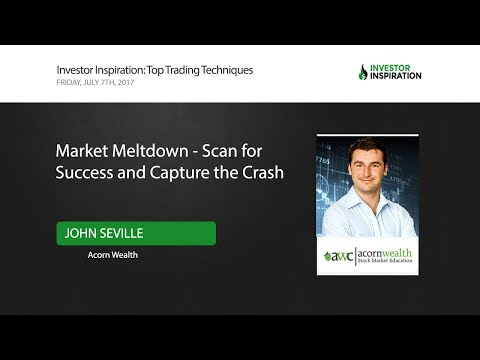 Market Meltdown - Scan for Success and Capture the Crash | John Seville