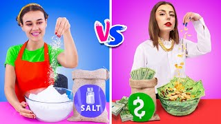 Rich Chef vs Broke Chef / 16 Funny Situations